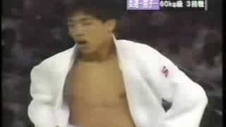 野村忠宏vsオジェギン ATL1996