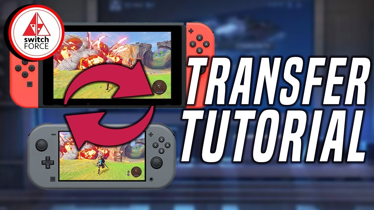 New Nintendo Switch Save Data Transfer Tutorial Youtube