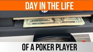 Day in the life of a poker player