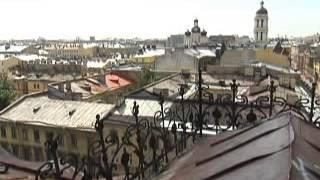 Крыши Петербурга. Первый канал Санкт Петербург.