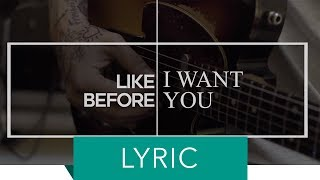 MATT GRESHAM – SAY YOU DON'T (Official Lyric Video 2018)
