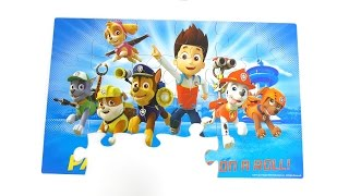 PAW Patrol wooden puzzles