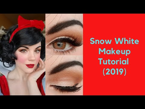 Snow White Makeup Tutorial (2019)