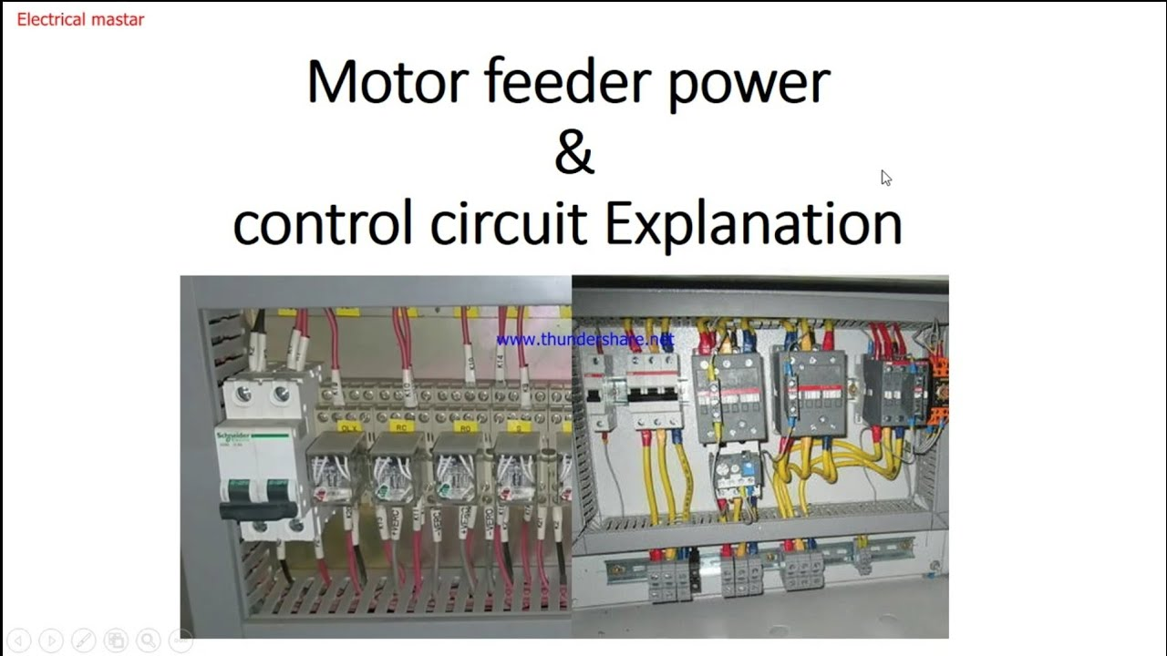 How To Start Motor Feeder From Mcc Panel And Wiring