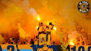 ultras world in limassol ael vs apollon 07052014