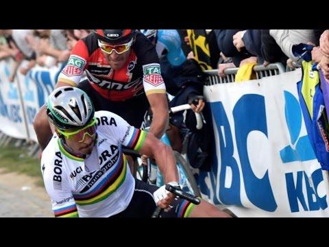 Tour Of Flanders 2017 Sagan Crash & Gilbert Wins!
