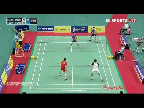 2017 Badminton All Star Hanmadang Festival Lee Yong Dae/Yoo