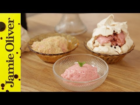 How to make a 45 Second Ice Cream | Jamie Oliver