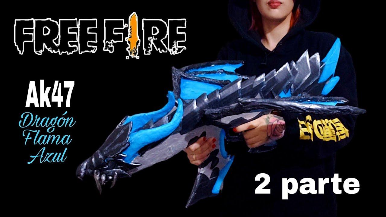 Cómo Hacer la Ak47 EVOLUTIVA Dragón Flama Azul al nivel Máximo - Hacelo Vos  SEGUNDA PARTE