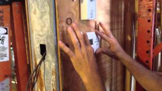 how to replace batteries on a digital thermostat