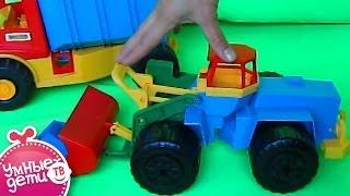как сделать погрузчик на трактор