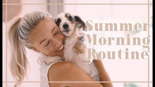 SUMMER HEALTHY MORNING ROUTINE // Fashion Mumblr