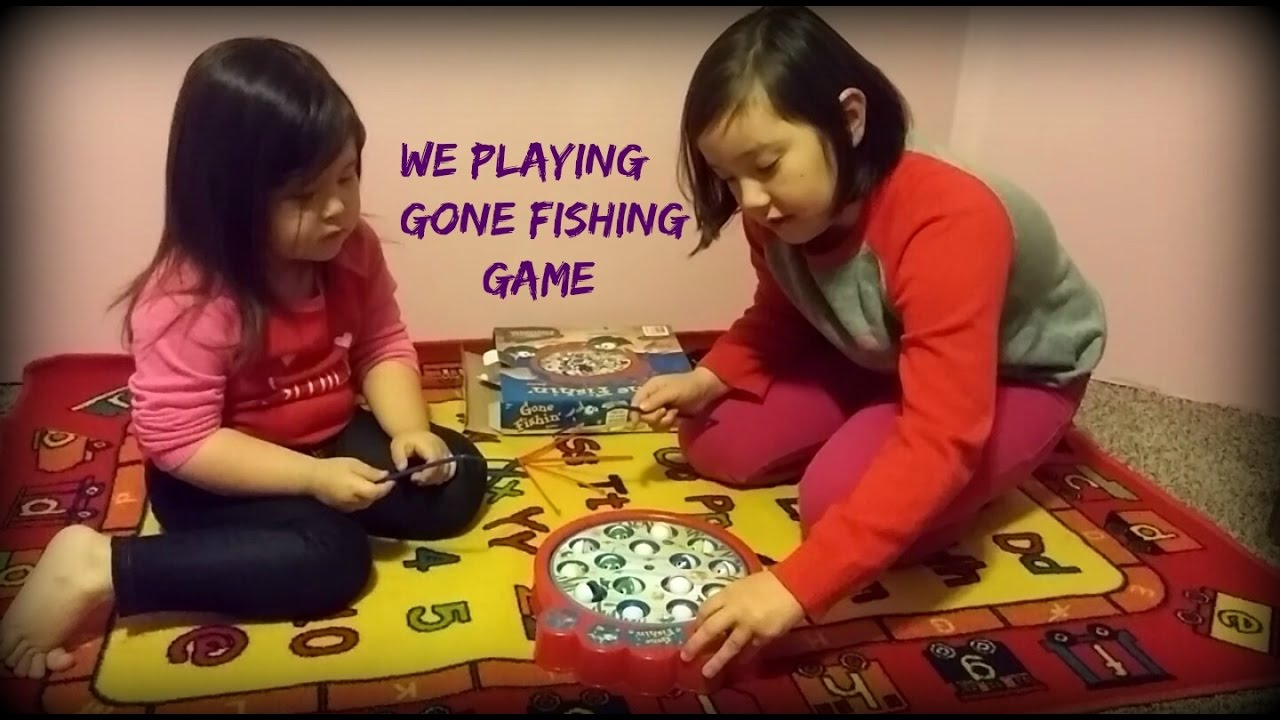 Funny baby trying to play the gone fishing game youtube for Gone fishing game