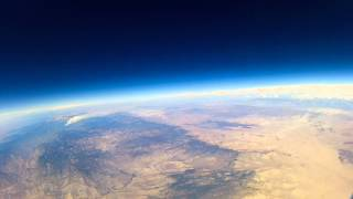 Weather Balloon Over Southern California (1/2)