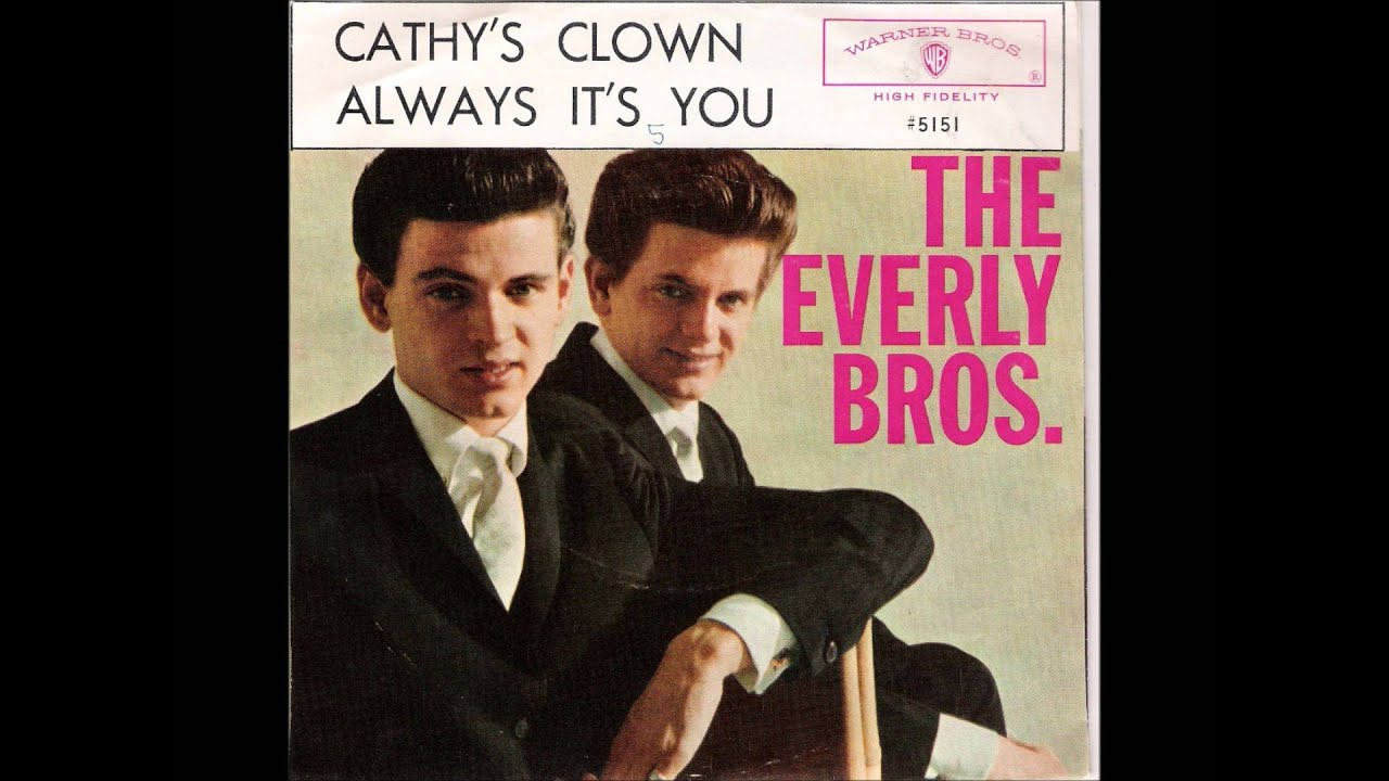 The Everly Brothers All I Have To Do Is Dream Youtube