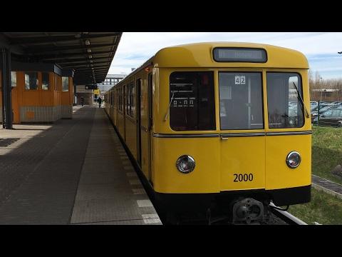 U-Bahn Berlin - Reaktivierter D-Zug auf U5-Probefahrt [4K]