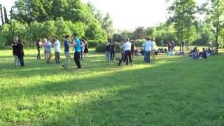 Таврический сад. Обучение танцам