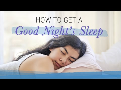 7 Tips for Better Sleep | Jack Canfield