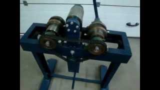 Самодельный трубогиб  для профильной трубы(Удобен но! нужно делать многофункциональный., 2015-11-12T05:58:01.000Z)