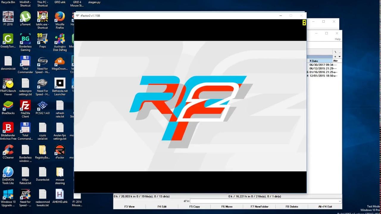 rFactor 2 mouse steering guide with vJoy + FreePIE + Script