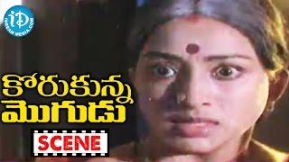 Korukunna Mogudu Movie Scenes - Geetha Irritates Lakshmi || Shoban Babu || Jayasudha