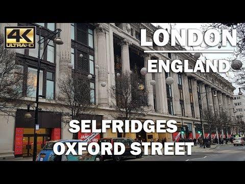 ⁴ᴷ STORE TOUR Selfridges Oxford Street, London
