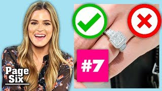 JoJo Fletcher Guesses 'The Bachelor' Engagement Rings | Page Six