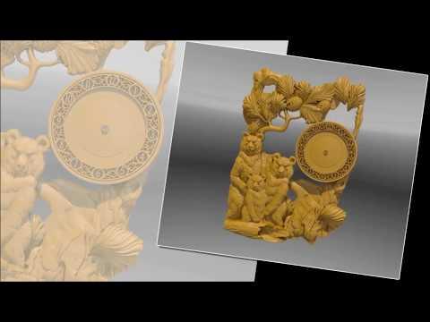 3D модели.Часы.