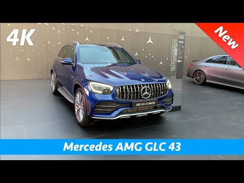 Mercedes-AMG GLC 43 2020 - FIRST look in 4K | Interior - Exterior
