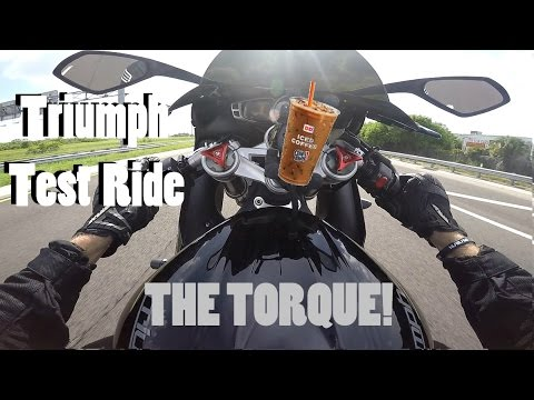 2013 Triumph Daytona 675 Test Ride