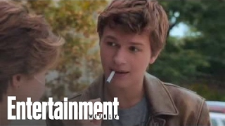 The Fault In Our Stars': Shailene Woodley & Ansel Elgort On Gus Meeting Hazel   Entertainment Weekly