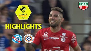 RC Strasbourg Alsace - Montpellier Hérault SC ( 1-3 ) - Highlights - (RCSA - MHSC) / 2018-19