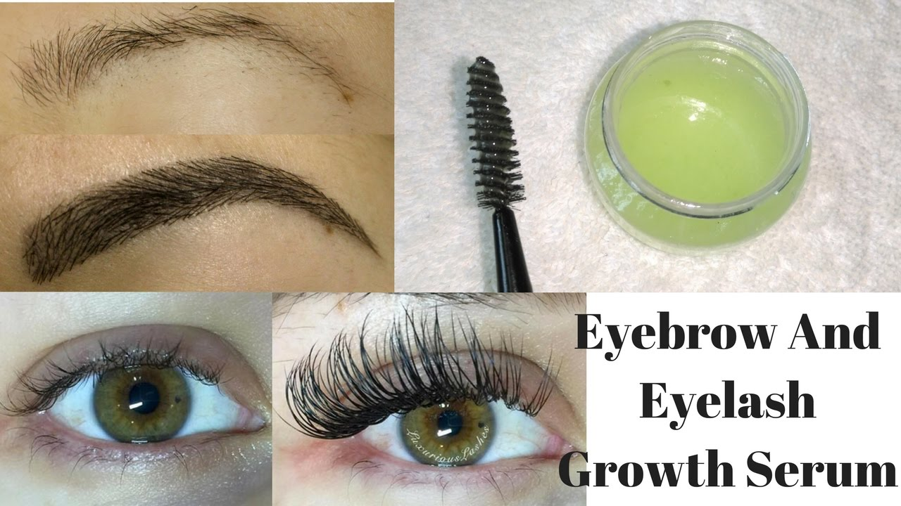 Grow Long Thick Strong Eyebrows Eyelashes In Just 5 Days Diy