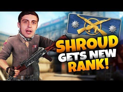 CS:GO - SHROUD GETS LOWEST RANK EVER!
