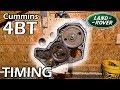 4BT Cummins Discovery #5 × Basic Timing Advance Walkthrough (P7100 P-Pump) [Land Rover Build]