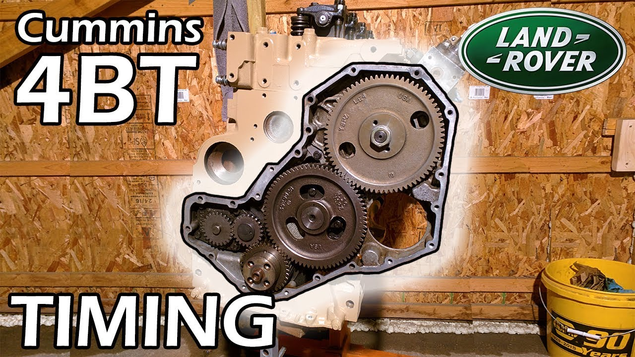 4bt Cummins Discovery 5 Basic Timing Advance Walkthrough P7100 P Pump Land Rover Build Youtube