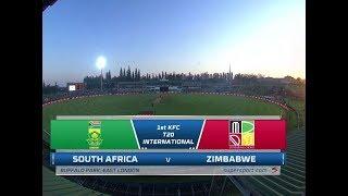 South Africa vs Zimbabwe | Highlights | 1st T20 International