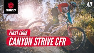 All-new 2020 Canyon Strive CFR LTD | First Look & Ride With Fabien Barel