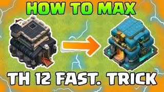 How to Max Townhall 12 Fast in Clash Of Clans 2018 | Best Tips and Trick | COC Max | Quitable Gamer