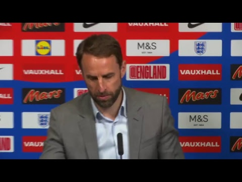 England manager Gareth Southgate's press conference