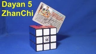 Dayan 5 ZhanChi speedcube review (The world's best Rubik's Cube puzzle)