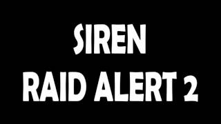 City/Port Air Raid Siren Sound Effect 2