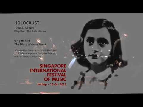 SIFOM 2015 - #06 Frid  The Diary of Anne Frank