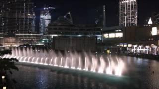 The Dubai Fountain: Enta Omri - Hossam Ramzy