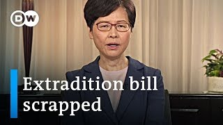 YouTube video on 2019 Hong Kong extradition bill