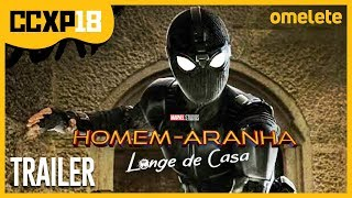 TRAILER HOMEM-ARANHA: LONGE DE CASA DESCRIÇÃO