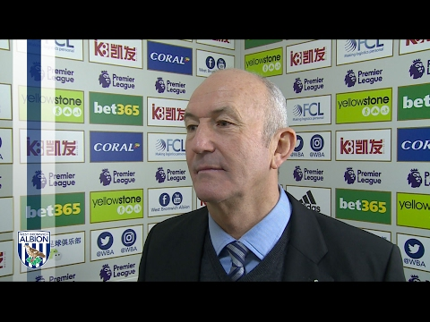Albion Head Coach Tony Pulis reflects on Stoke win