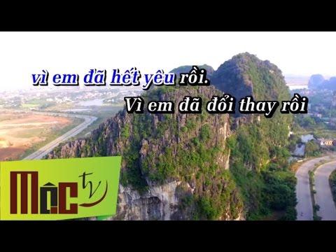 Karaoke Hết Yêu - Tuấn Quang | Beat Gốc Chuẩn 320kb