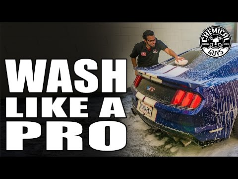 Mustang Week! Best Wash and Dry For Your Car - Chemical Guys Car Care