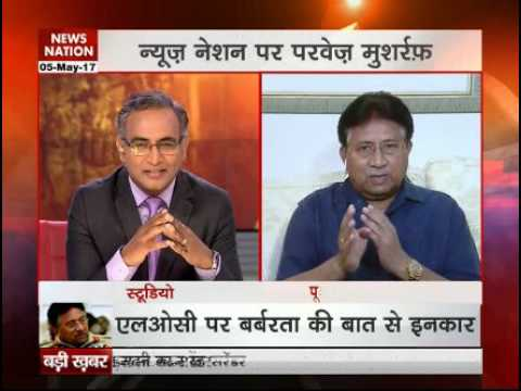 News Nation Exclusive interview with former Pakistan President Pervez Musharraf